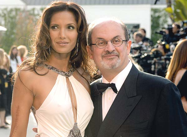 Author-Salman-Rushdie-and-Model-Padma-Laxmi