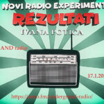 Rezultati Ivana Potića (radio-eXperiment)